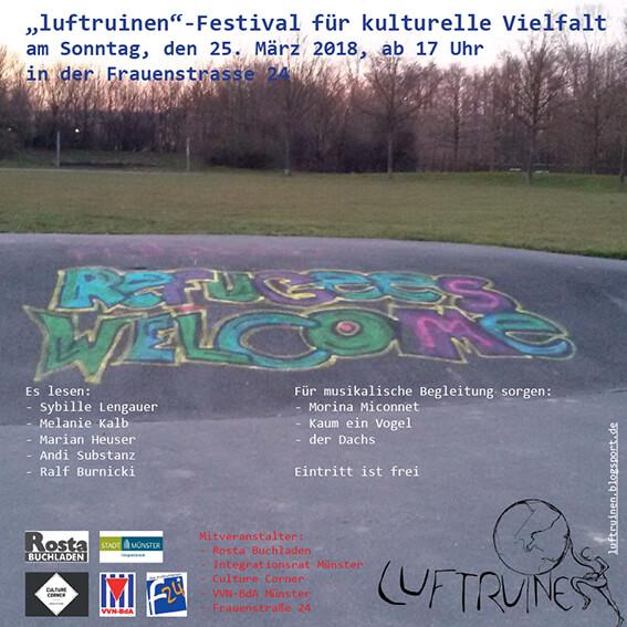 Luftruinen-Festival, 25.3., 17 Uhr, F24